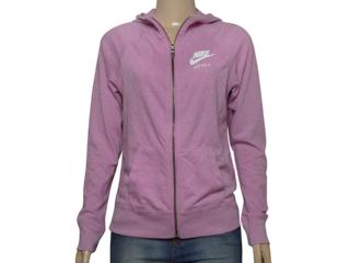 Casaco Fem Infantil Nike 728402-565 Sportswear Gym Lilas - Tamanho Médio