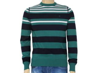 Casaco Masculino Zanatta 5324 Listrado Verde - Tamanho Médio