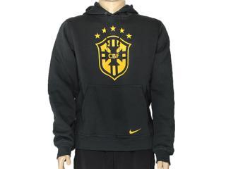 Casaco Masculino Nike 589224-337 Club Cbf Core Hoody Musgo Escuro - Tamanho Médio