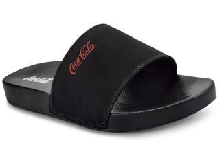 Chinelo Masculino Coca-cola Shoes Cc2370 Preto - Tamanho Médio