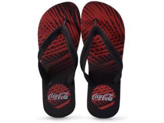 Chinelo Masculino Coca-cola Shoes Ccl2273 Preto - Tamanho Médio