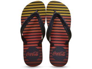 Chinelo Masculino Coca-cola Shoes Ccl2237 Preto - Tamanho Médio