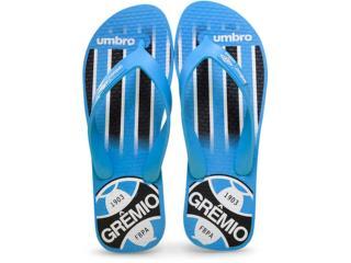 Chinelo Masculino Of67000 Grêmio Azul/branco - Tamanho Médio