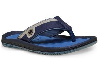 Chinelo Masculino Grendene 11020 Cartago Fiji iv Azul - Tamanho Médio