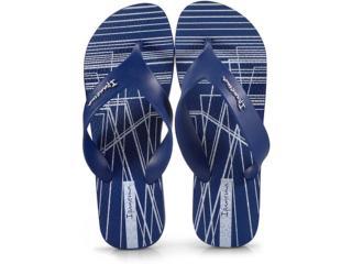 Chinelo Masculino Grendene 25662 Ipanema Deck Azul - Tamanho Médio