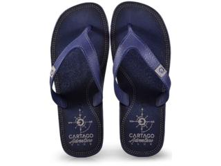 Chinelo Masculino Grendene 10738 22788 Cartago Dakar Azul/cinza - Tamanho Médio