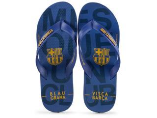 Chinelo Masculino Grendene 11441 23389 Rider Barcelona Azul/laranja - Tamanho Médio