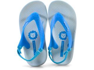 Chinelo Masc Infantil Grendene 26121 24808 Ipanema Anatomica Azul - Tamanho Médio