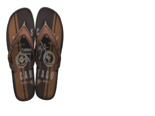 Chinelo Masculino Grendene 11254 24539 Cartago Dakar Plus Marrom/cinza - Tamanho Médio