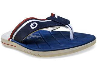 Chinelo Masculino Grendene 11083 Cartago Sevilha Branco/azul - Tamanho Médio