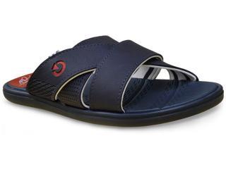 Chinelo Masculino Grendene 11110 Cartago Rhodes Azul/vermelho - Tamanho Médio