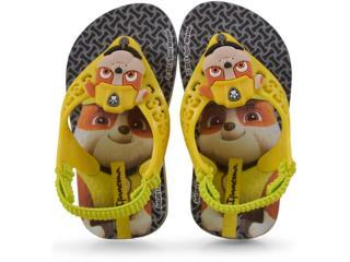 f5d8cc324 Chinelo Masc Infantil Grendene 26124 Ipanema Patrulha Canina Baby  Cinza amarelo