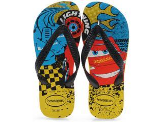 42ea703e0 Chinelo Masc Infantil Havaianas Kids Cars Amarelo Citrico
