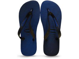 Chinelo Masculino Havaianas Top Gradient Preto/azul - Tamanho Médio