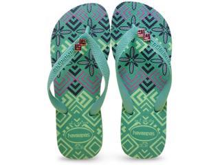 Chinelo Feminino Havaianas Top Gracia cf Verde Cha - Tamanho Médio