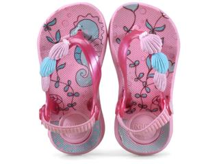 Chinelo Fem Infantil Klin 442.075 Rosa/pink - Tamanho Médio