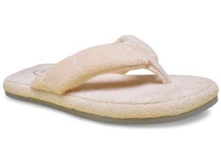 Chinelo Feminino Leffa 593 Marfim - Tamanho Médio