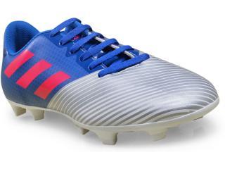 Chuteira Masculina Adidas H68433 Artilheira ii Azul/prata/pink - Tamanho Médio