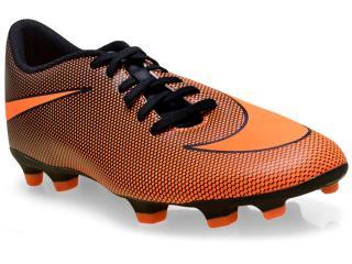 Chuteira Masculina Nike 844436-880 Mens Bravata ii fg Laranja/preto - Tamanho Médio