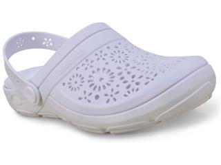 Crocs Feminino Boaonda 1317 Branco - Tamanho Médio