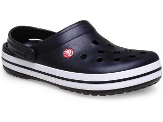Crocs Masculino Crocs Crocband Preto/branco - Tamanho Médio