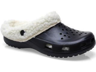 Crocs Masculino Soft Mania Bb22 Preto - Tamanho Médio