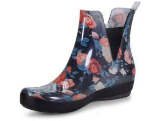 8ac70079169 Galocha Boaonda 1702 Floral Comprar na Loja online...