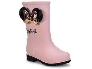 df29cda51a352a Galocha Fem Infantil Grendene 21753 51647 Disney Fashion Inf Rosa/preto