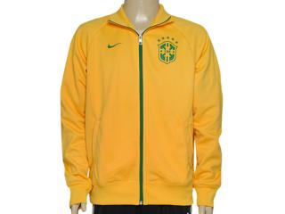Jaqueta Masculina Nike 598255-703 Cbf Core Trainer Jkt Amarelo - Tamanho Médio