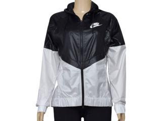 Jaqueta Feminina Nike 804947-010 w Nswwr Jkt Preto/branco - Tamanho Médio