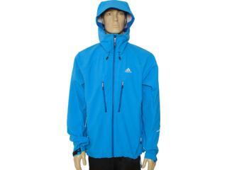 Jaqueta Masculina Adidas V37112 Azul Bic - Tamanho Médio