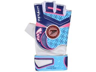 Luva Unisex Poker 01837 Deep vi Branco/azul/marinho/rosa Neon - Tamanho Médio