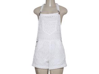 Macacão Feminino Alpelo 80103 Branco - Tamanho Médio