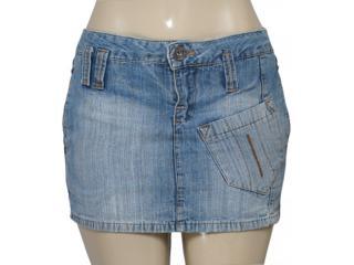 Micro Saia Feminina Dopping 75085d Jeans - Tamanho Médio