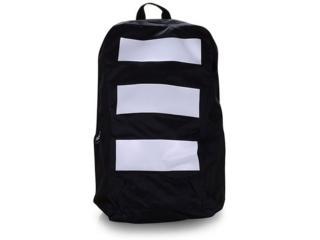 Mochila Masc Infantil Adidas Ed0260 Parkhood 3s bp Preto/branco - Tamanho Médio