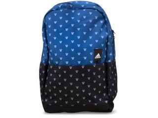 Masc Infantil Mochila Adidas S99863 Classic m Bts Azul/preto - Tamanho Médio