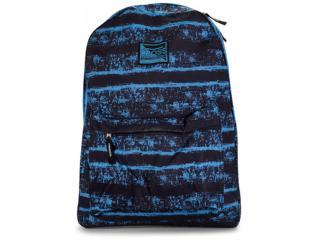 Mochila Masc Infantil Lavit Cr8122 Preto/azul - Tamanho Médio