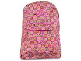 Mochila Fem Infantil Lavit Cr8130 Pink - Tamanho Médio
