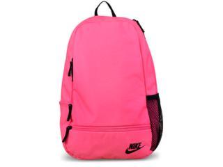 4dca78b27 Mochila Feminina Nike Ba5274-627 Classic North Solid Rosa Neon