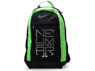 7c73ec40d4360 Mochila Masculina Nike Ba4854-031 Neymar Small Backpack Preto/verde/prata