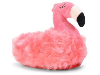 Pantufa Feminina Ricsen 3000 Flamingo Rosa - Tamanho Médio