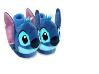 Pantufa Masc Infantil Ricsen 169500 Stich 3d Azul - Tamanho Médio