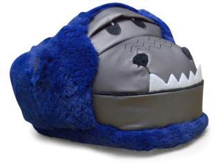 Pantufa Masculina Ricsen 10122 Gorila  Azul - Tamanho Médio