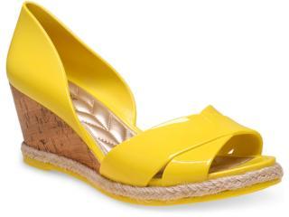 Peep Toe Feminino Petite Jolie Pj1447 Amarelo - Tamanho Médio