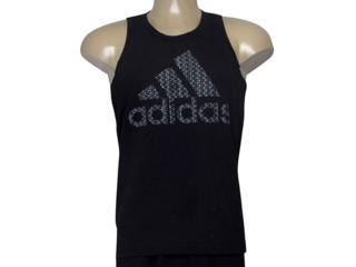 Regata Masculina Adidas Cd9098 Bos Preto - Tamanho Médio