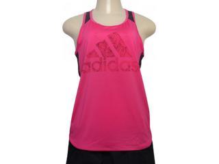 Regata Feminina Adidas Dn4143 bb Mesh Pink - Tamanho Médio