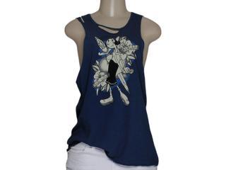 Regata Feminina Cavalera Clothing 09.01.3061 Navy - Tamanho Médio