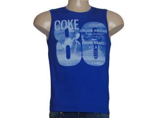 Regata Masculina Coca-cola Clothing 393200259 Azul - Tamanho Médio