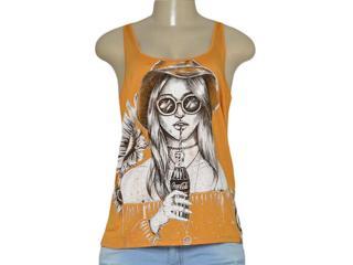Regata Feminina Coca-cola Clothing 383200968 Ocre - Tamanho Médio