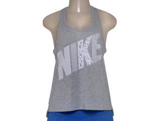 Regata Feminina Nike 678966-063 Prep Tank-mixed  Cinza - Tamanho Médio